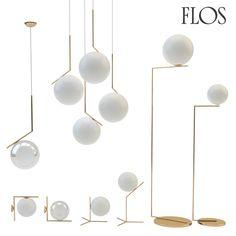 Flos Ic Lights Set 3D X - 3D Model
