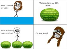 Actually, I'd probably smeeyash them watermelons