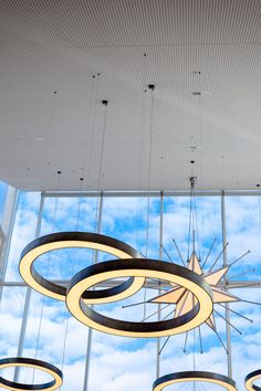 Vogl perforated plasterboard providing a simple and effective ceiling solution at Green Square library. Plasterboard, Case Study, Fair Grounds, Ceiling, Simple, Green, Projects, Decor, Log Projects
