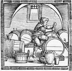 medieval woodcut brewers - Google Search
