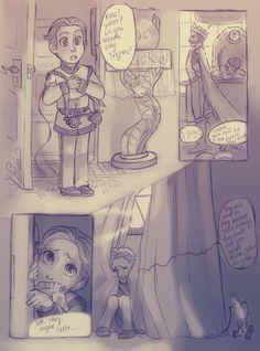 Hans' backstory