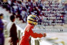 Decades after his death, Ayrton Senna still manages to inspire me. Wise Quotes, Mood Quotes, Great Quotes, Car Quotes, Indy Car Racing, Indy Cars, Ayrton Senna Quotes, San Marino Grand Prix, Aryton Senna