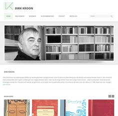 webdesign pagina voor Dirk kroon