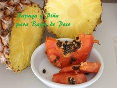 Licuado de Papaya y Piña para Bajar de Peso {Papaya & Pineapple smoothie to loose weight} - YouTube
