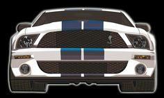 Vector Mustang cobra terminado