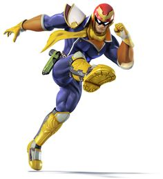 Captain Falcon | Super Smash Bros. for 3DS and Wii U