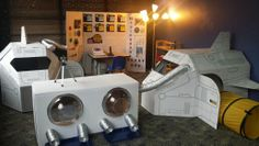 There's No Place Like Space! Behnke Preschool's new outer space/astronaut theme! www.behnkepreschool.com