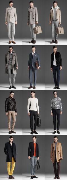 Reiss Lookbook. Men's Fall Winter Fashion.