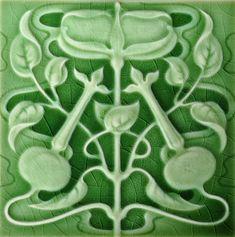 Henry Richards c1901 - RS0281 - Art Nouveau Tiles