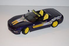 Maisto 98 Corvette Convertible Official Pace Car 1:18 Scale Diecast #Maisto #Corvette