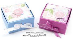 Easy Fold Flat Ribbon Close Box Tutorial