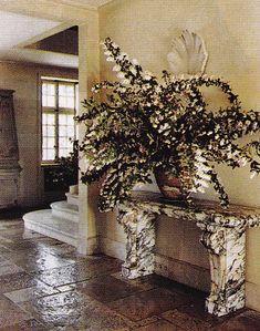 old provence limestone floor