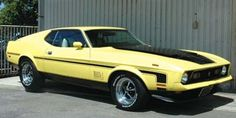 Movie: Gone in 60 Seconds (1974) Car: 1973 Ford Mustang Mach 1