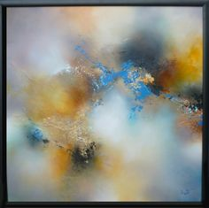 """Saatchi Online Artist: Simon Kenny; Mixed Media, 2012, Painting """"Choirs of Winter"""" $2200"""