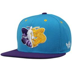 adidas New Orleans Hornets Premium Snapback Hat - Creole Blue/Purple by adidas. $24.95. Imported. Adjustable plastic snap strap. One size fits most. Structured fit. Quality embroidery. adidas New Orleans Hornets Premium Snapback Hat - Creole Blue/PurpleOfficially licensed NBA productOne size fits mostAdjustable plastic snap strap80% Acrylic/20% WoolQuality embroideryStructured fitImported80% Acrylic/20% WoolStructured fitQuality embroideryAdjustable plastic snap strapOne size fi...