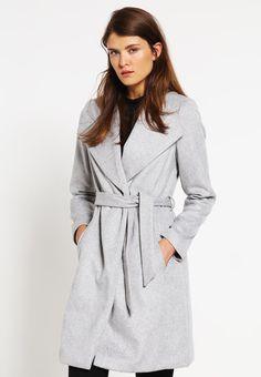 Classic coat - medium grey - Zalando.co.uk 499bdc7f82