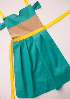 Aladdin princess Jasmine dress up apron for toddlers and little girls