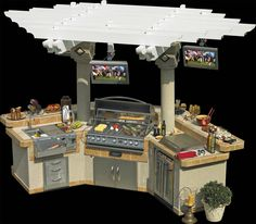 The ultimate outdoor grill!