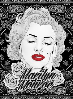 MARILYN MONROE - POSTER 50 x 70 cm by ORLANDO GRAPHICS
