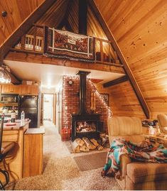 Cozy A-frame cabin in Oregon. Dream home