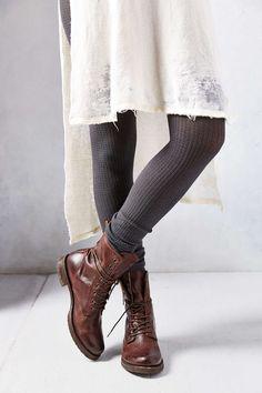 Waffle Knit Dancer Leg Warmer