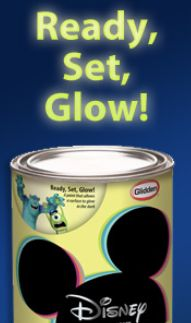 Disney Glow In The Dark Paint! Could Be Used For Rapunzelu0027s Hair On Murals