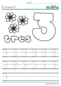 El número 3: http://edufichas.com/actividades/matematicas/numeros/el-numero-3/