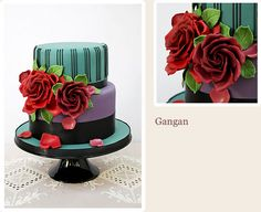 """""""Gangan"""" - one of the most vibrant cakes I've ever seen - the guests will not forget it ad the photos will be awesome!"""