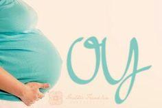 Adorable pregnancy photo idea