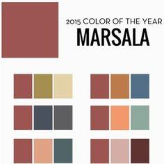 Pantone's 2015 Color Of the Year 30 Marsala Décor Ideas