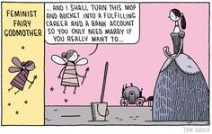 Feminist Fairy Godmother (by Tom Gauld)