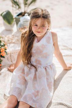 Girl`s sunset dress. Kids Wear, Summer Collection, Fashion Brand, Summertime, Fall Winter, Flower Girl Dresses, Spring Summer, Sunset, Boho