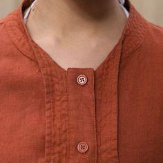 Linen Irregular single breasted long shirt by MaLieb on Etsy