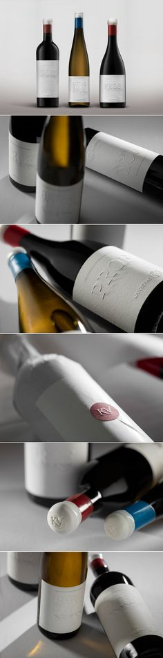 These Gorgeous Wine Labels Also Provide For An Optical Illusion — The Dieline   Packaging & Branding Design & Innovation News