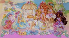 Lady LovelyLocks & friends on tropical island. Lady Lovely Locks, Close To My Heart, Vintage Toys, Arts And Crafts, Tropical, Illustrations, Island, Comics, Friends