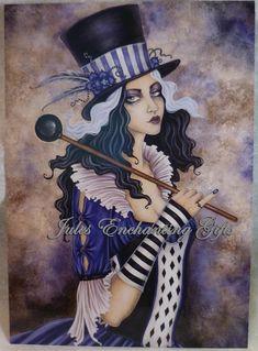 Calliope - 5 x 7 Fairy Art Print
