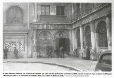 Teatro Principal derribado en 1968
