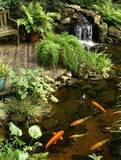 top-15-small-rock-outdoor-waterfall-designs-easy-backyard-garden-decor-project (4)