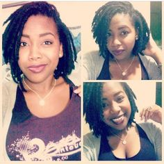 Short thick locs