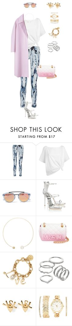 """""""794"""" by julialeskiv ❤ liked on Polyvore featuring rag & bone, Red Herring, Westward Leaning, Giuseppe Zanotti, Sophie Bille Brahe, Moschino, Lanvin, Apt. 9, Yves Saint Laurent and Charlotte Russe"""