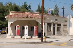 old gas stations | Antique gas station in Monrovia, CA
