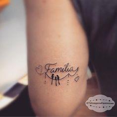 Resultado de imagem para tatuagem familia