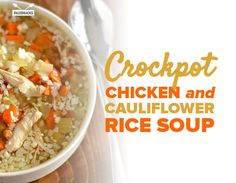 You only need 8 ingredients for this healing and cozy crockpot soup.
