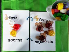 Fall Easy Reader Books with Activities!  Great for PreK & Kinder kids.