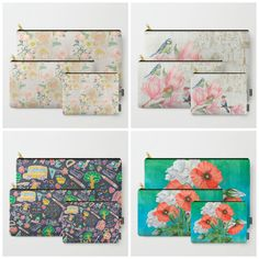You can buy it separately of course but you save more when you buy it a set. I do have lots of theme #flowers #floral #spring #summer#teacher #pattern etc.  Check more at store: society6.com/julianarw