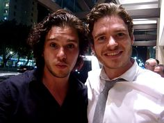 Stark and Snow selfie!!