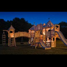 Play House I wanna build one of these :)