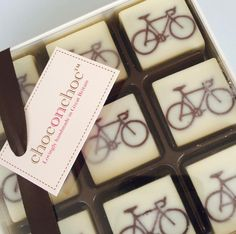 Get geared up with this quirky collection of bicycle chocolates. These little bikes are a wonderful gift for any cycling fanatic in your life – just don't expect them to share!