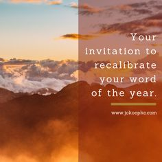 """""""How has your """"word for the year"""" impacted your life so far? Did you ever get around to setting a focus for your year? If you did, can you even remember what it is? I confess that there have been many times this year that I have had to flick back to the first page of my planner to even remember my word. I can't help but compare it to last year when my word remained sharp in my focus and seeped into my everyday. The experience has not been the same this year. Maybe you can relate to this."""""""