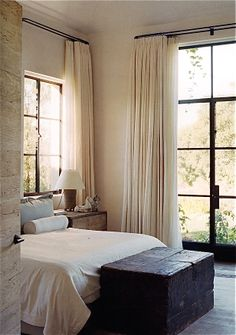 Mountain Home Design Ideas, Pictures, Remodel, and Decor - page 4 Mediterranean Home Design amazing hammock christmas interior design ideas . Home Bedroom, Bedroom Decor, Light Bedroom, Bedroom Ideas, Bedroom Rustic, Master Bedrooms, Bedroom Apartment, Deco Boheme Chic, Suites